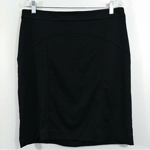 Merona Pencil Straight Basic Career Skirt Black